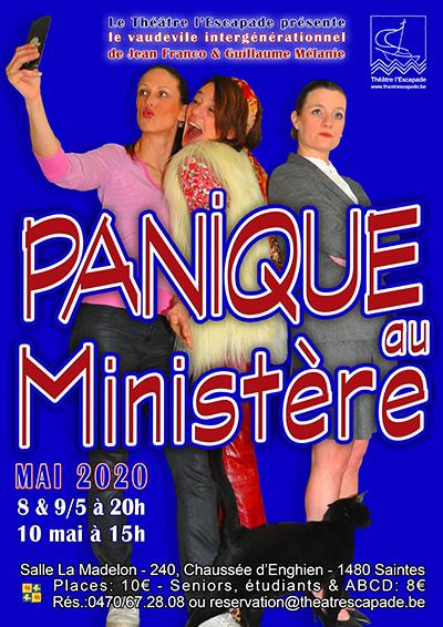 Affiche Panique au Ministère